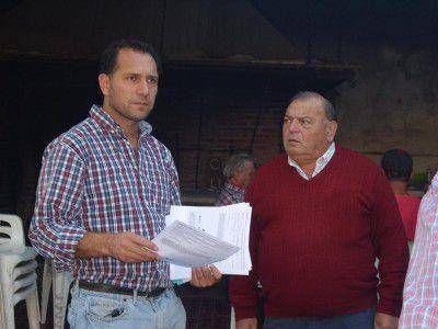 Facundo Celasco se reunió con las nuevas autoridades de la agrupación de jubilados de calle Richieri