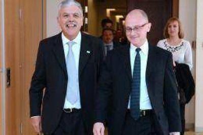 De Vido se reunió con directivos de la empresa nuclear estatal rusa para avanzar en acuerdos de cooperación