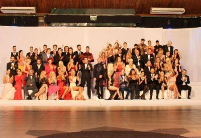 """La foto con todos los participantes del """"Bailando 2015″"""