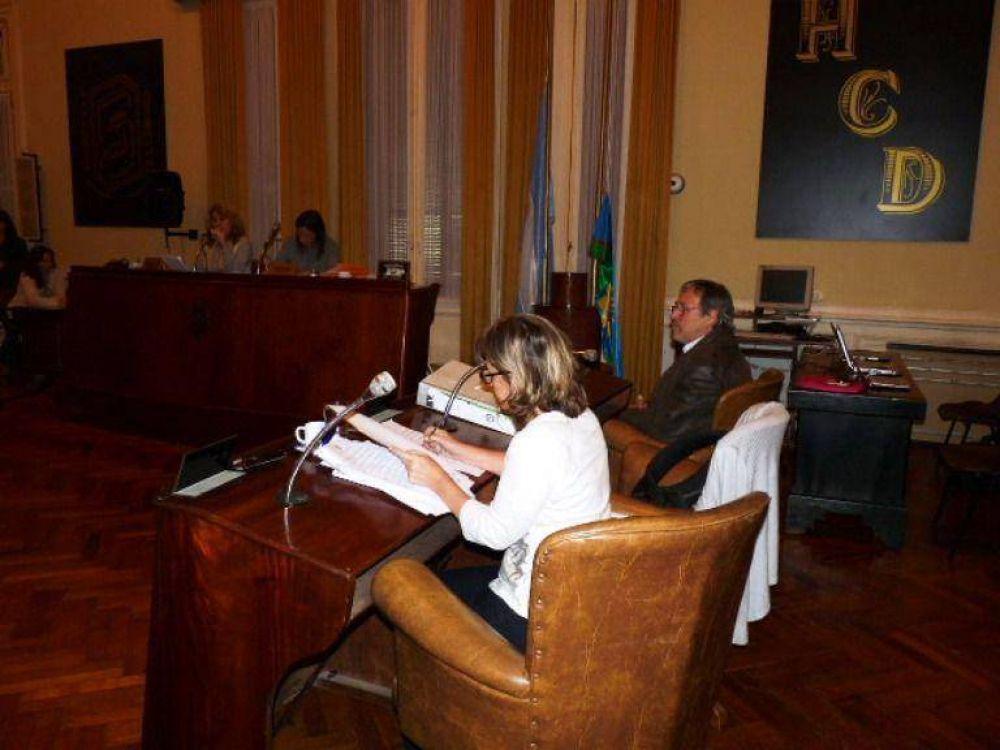 La segunda sesión ordinaria del año del HCD tuvo como protagonista el debate por el agua