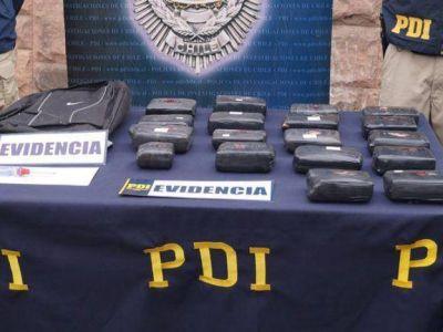 Barras de Palestino volvían de ver a Boca, compraron droga en Mendoza y fueron atrapados en el paso a Chile