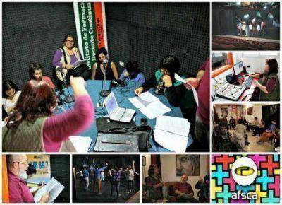 Actores y estudiantes participaron del Taller de Radioteatro de AFSCA en Luis Beltrán