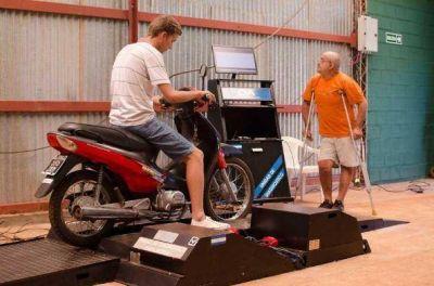 Se incrementó la cantidad de verificaciones de motos en Posadas