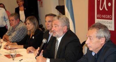 Del Bello destacó respaldo a la CNEA para reactivar planta de producción de uranio enriquecido en Pilcaniyeu