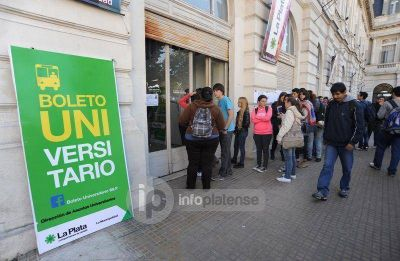 Boleto Universitario: Estudiantes denuncian �pol�tica de vaciamiento� de Bruera