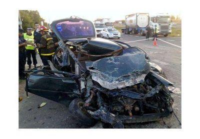 El conductor que habr�a intentado matarse, y su hijo, salieron del coma