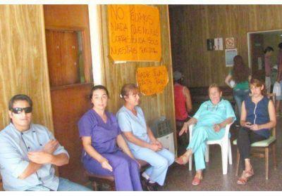 Vuelven a parar los empleados del sanatorio de Villaguay