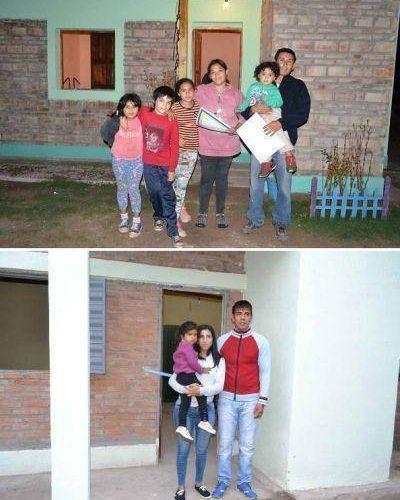 Entregan viviendas sociales en Yanda y Vuelta de la Barranca