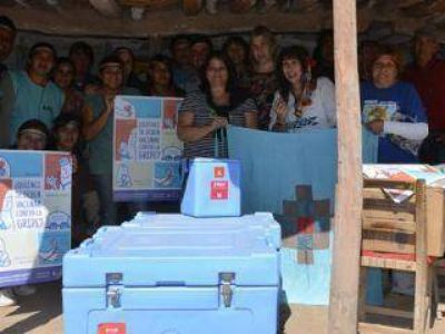 La comunidad Tonokoté expuso sus experiencias en salud comunitaria
