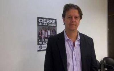Castillo cuestionó a Scioli por la falta de pago a docentes de Tigre
