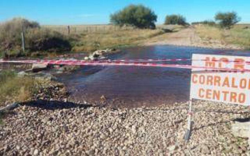 Coronel Rosales: Emergencia por desborde del dique Paso de las Piedras