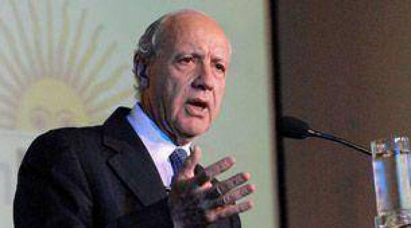 Roberto Lavagna pidi� la desaparici�n de la Oncca