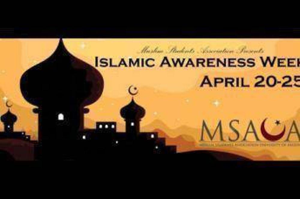 Semana de concientización islámica en una universidad estadounidense