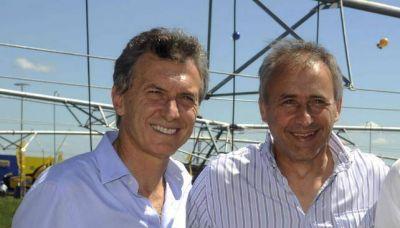 Con Macri, presentan la fórmula Aguad-Baldassi