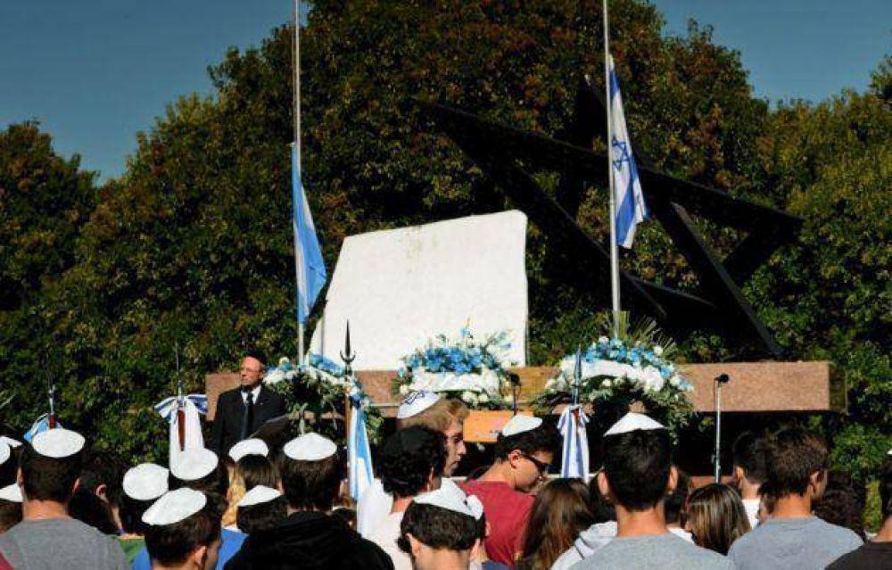 La comunidad judía desarrolló el acto Central en homenaje a los argentinos fallecidos en defensa del Estado de Israel