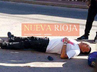 Dos heridos de gravedad en un choque en el centro de la Capital