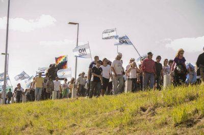 Declararon de interés provincial la marcha al puente Gral. San Martín