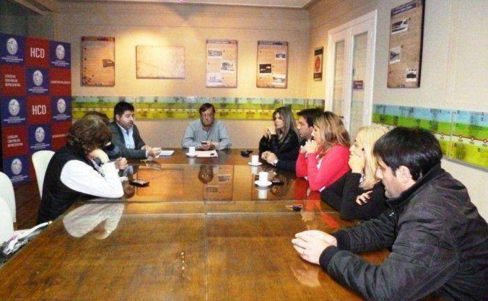 Reunión de la comisión de legislación