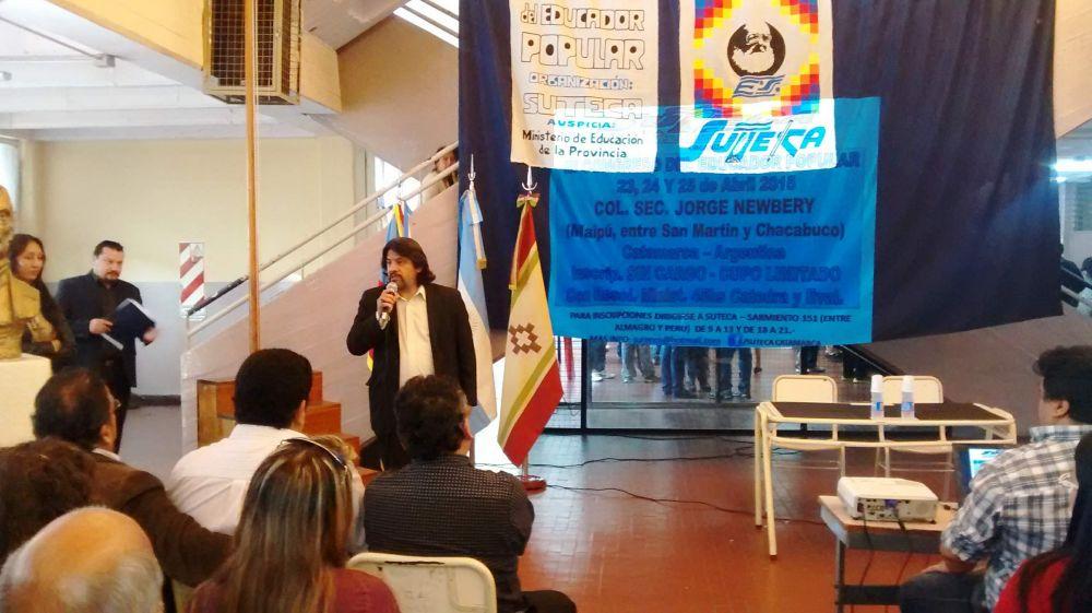 """Marisa Díaz, sobre el congreso de SUTECA: """"La intención es plantear aires que se renueven dentro de la tarea docente"""""""