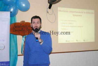 Se llevó a cabo la charla sobre Autismo, a cargo del Lic. Ignacio Gath.
