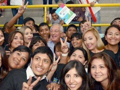 Fellner inauguró el II Foro Regional por la Ley Nacional de la Juventud.