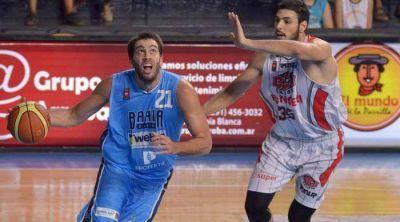 Liga Nacional: a puertas cerradas, a Bahía Basket se le abrió el aro