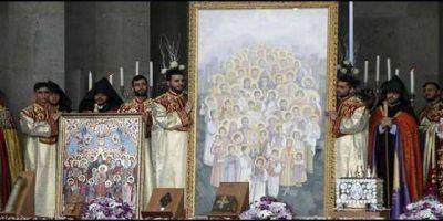 La Iglesia Apost�lica Armenia proclama m�rtires al mill�n y medio de v�ctimas del genocidio otomano