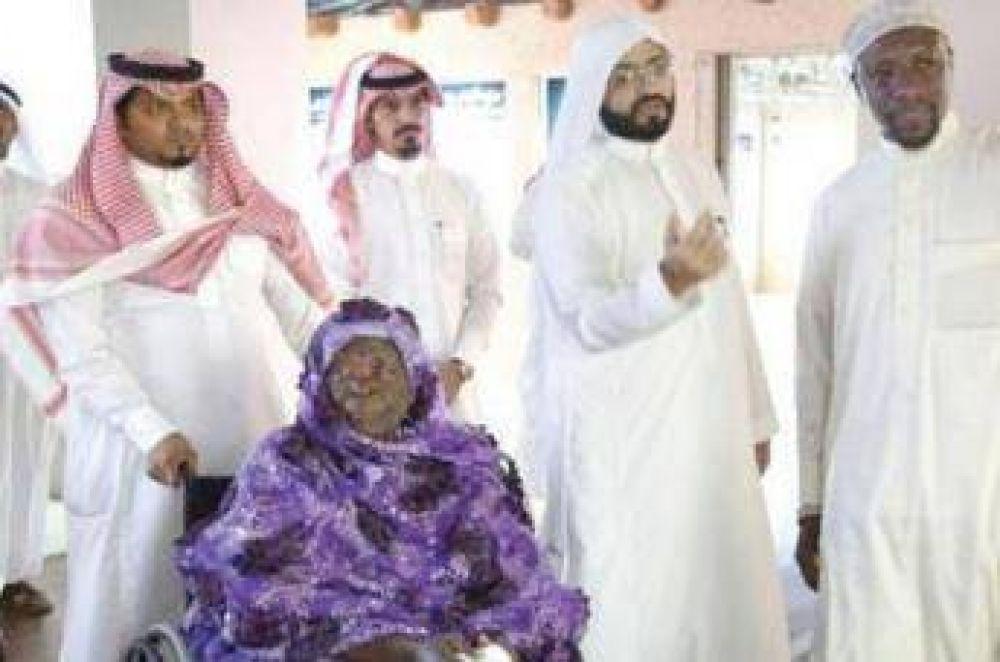 La abuela de Obama peregrina a la Meca