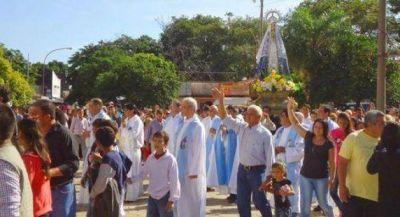 Multitudinario homenaje brindaron a la Patrona y Protectora de Corrientes