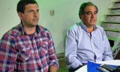 Martínez ratificó como compañero de fórmula a Bordagaray