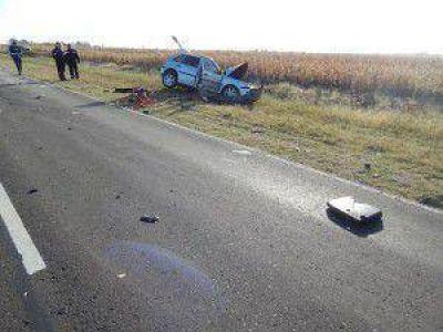 Un conductor que se dirigía hacia Galarza, falleció tras una colisión en la RN 12