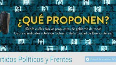 El Partido de la Red reunió todas las propuestas de los candidatos