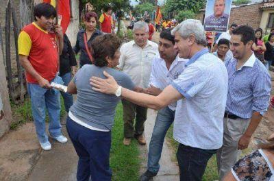 El vicegobernador Zottos estuvo en el aniversario de Pichanal