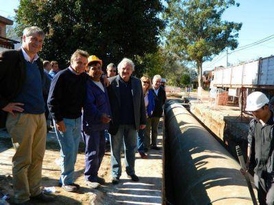 Comenzó la ejecución del Pluvial Marcos Sastre - Segunda Etapa