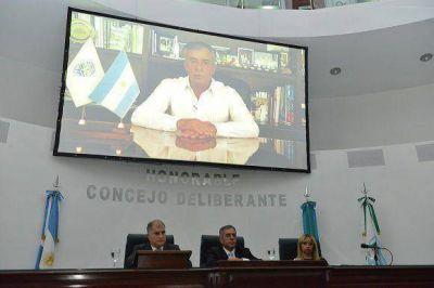 Jesús Cariglino inauguró las sesiones ordinarias en el HCD