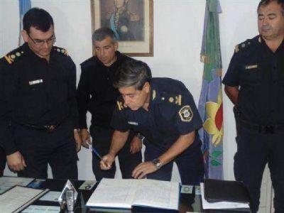Se presentaron las nuevas autoridades policiales