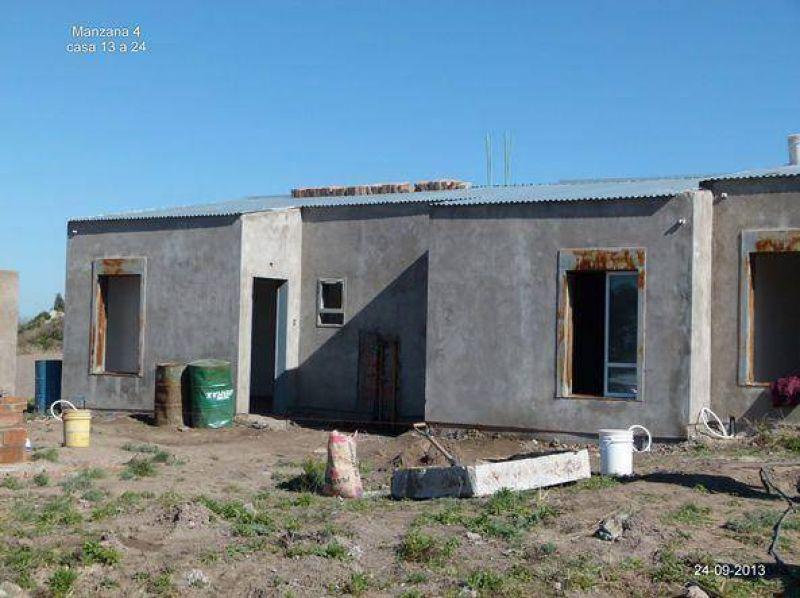 En junio podrían entregar 130 casas del barrio de la UOM