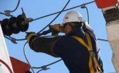 Cortes de energía previstos para el lunes por obras