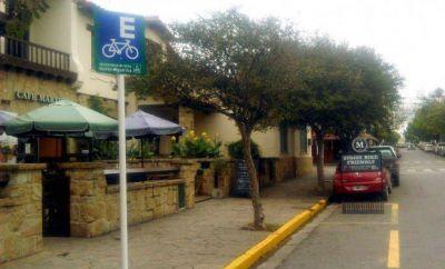 La ciudad tiene un nuevo espacio gratuito para estacionar bicicletas.