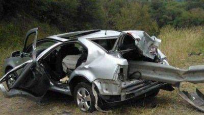 Muere un hincha de San Martín en accidente en la ruta 9