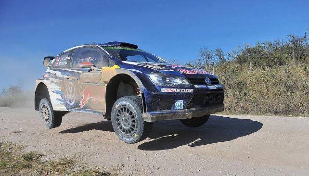 Rally Argentina 2015: arrancó el sábado y Volkswagen presiona, pero Meeke sigue arriba