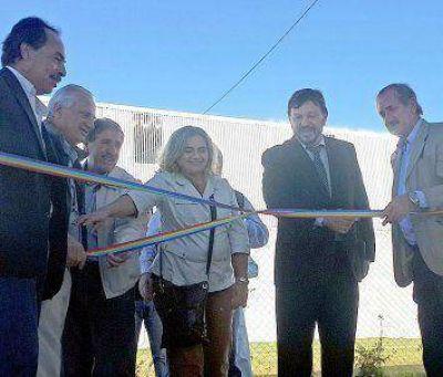 Inauguraron planta de extracción de miel en el Parque Industrial