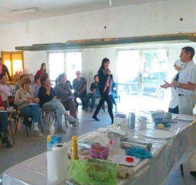 Se organizó ayer una jornada de cocina para celíacos en el CIC