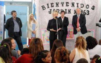 Moreno: Provincia inauguró nuevo Jardín de Infantes