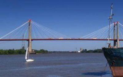 Diputado socialista quiere otro puente para unir Buenos Aires y Entre Ríos