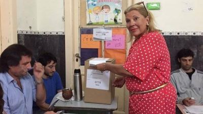 Carrió pidió transparencia y adelantó su voto por