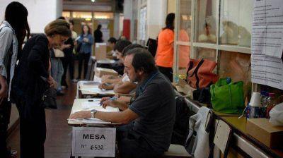Los principales candidatos ya emitieron su voto en las primeras primarias porteñas
