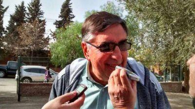 Dobrusín denunció problemas en Rincón de los Sauces