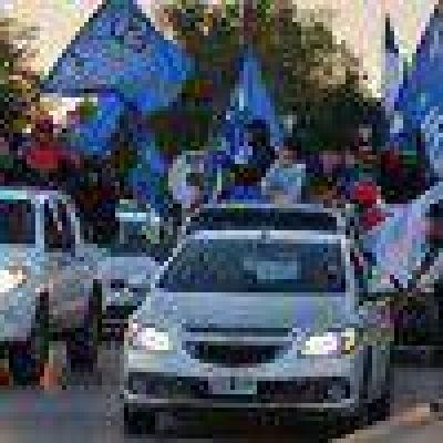 Se hizo hoy la segunda marcha para pedir por la libertad de Claudio Vidal