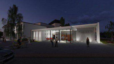 Foulkes expuso el proyecto de construcción del centro de convenciones de Viedma